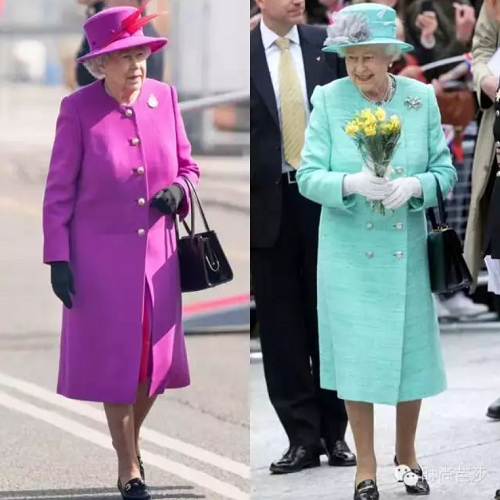 为什么英国女王穿下一本色谱都好看?她的衣橱秘密在这里